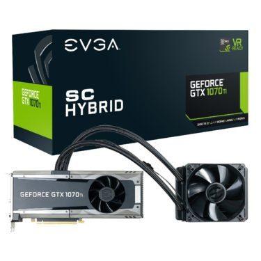 EVGA GeForce GTX 1070 Ti SC HYBRID