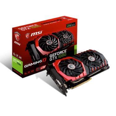 MSI GeForce GTX 1080 GAMING X