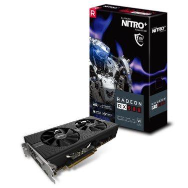 Sapphire Radeon RX 580 NITRO+ 8GB OC