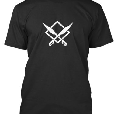 CUTTING EDGE GAMER White Logo Men's
