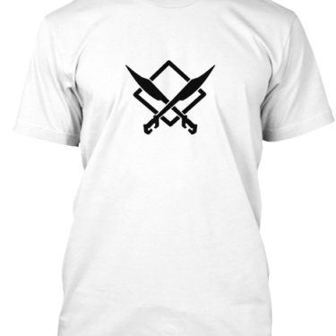 CUTTING EDGE GAMER Black Logo Men's
