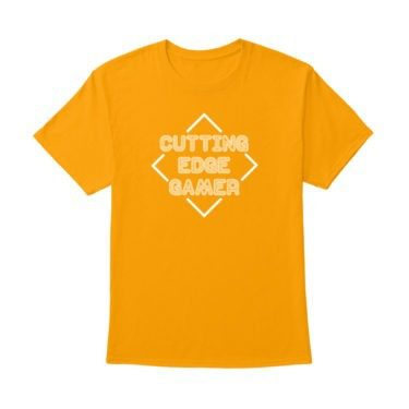 Cutting Edge Gamer – Psych – Unisex Yellow T-Shirt